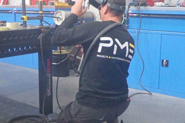 PME_Service_technieker_reparatie_welding