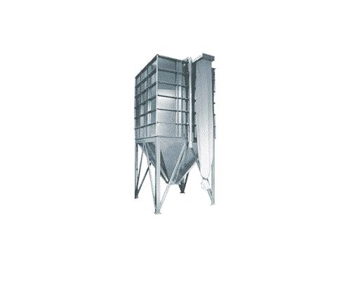 binnensilo: granulaten binnen de productiehal opslaan