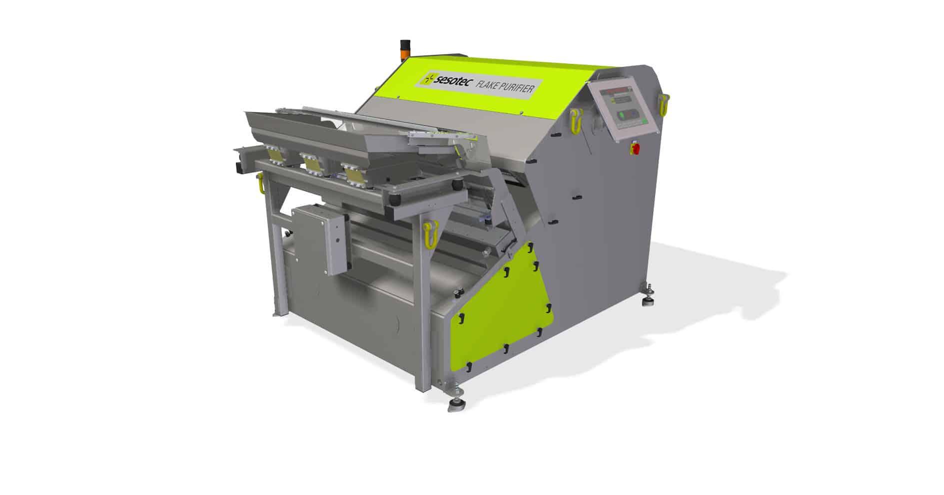 Flake-purifier-high-tech-sorting-system-sesotec