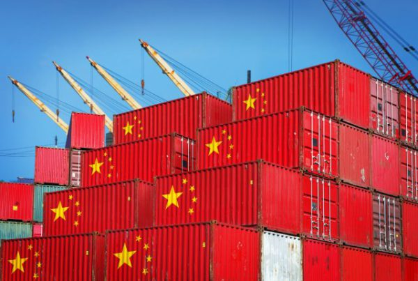 plastic export naar China