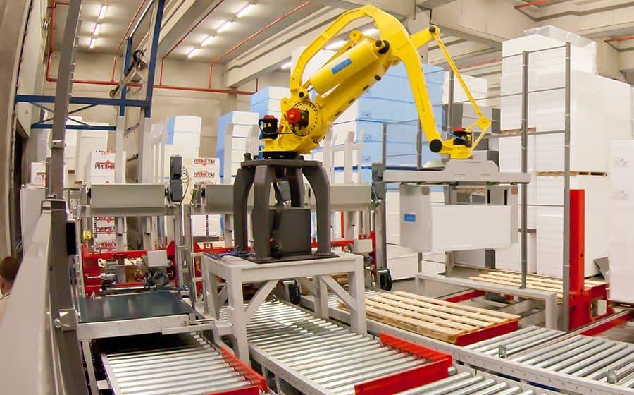 Verhoog je logistieke productiviteit met robot automatisaties