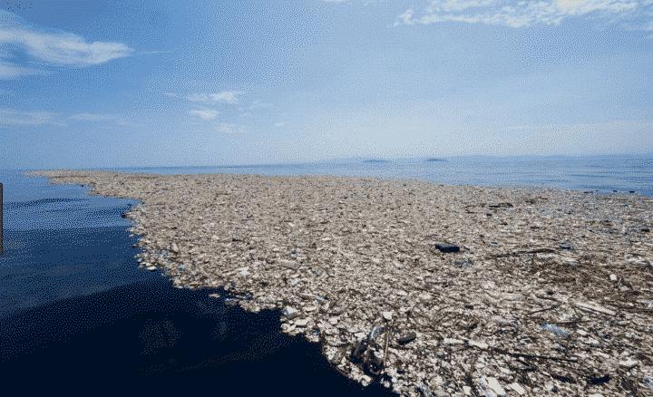 Plastic soup oceaan afval