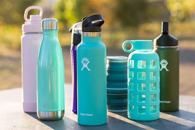 Plastics: herbruikbare drinkflessen uit kunststof